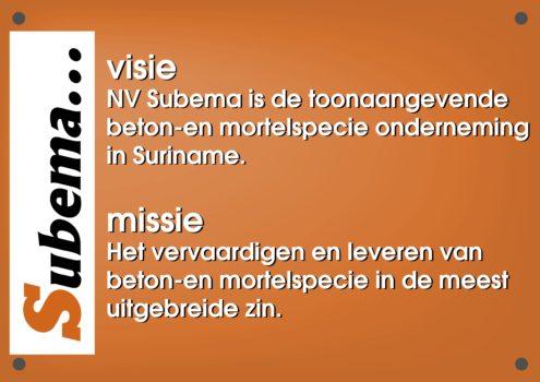 MISSIE VISIE SUBEMA- zonder rand